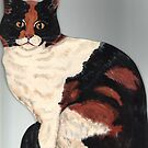 Patchwork Cat by Anni Morris