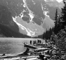 Moraine Lake, Banff, Alberta Sticker