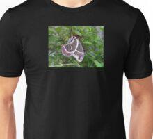 """""""Cecropia Moth on Plant"""" Unisex T-Shirt"""