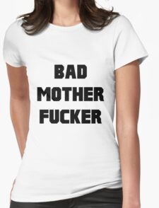 Bad Mother Fucker Pulp Fiction Womens Fitted T-Shirt