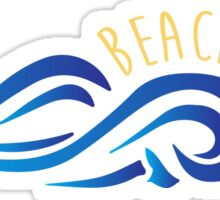 Beachy Sticker