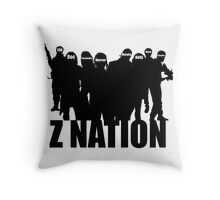 Z Nation Silhouette Throw Pillow