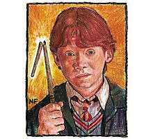 RON WEASLEY, AS PORTRAYED BY ACTOR RUPERT GRINT Photographic Print