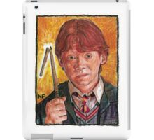 RON WEASLEY, AS PORTRAYED BY ACTOR RUPERT GRINT iPad Case/Skin