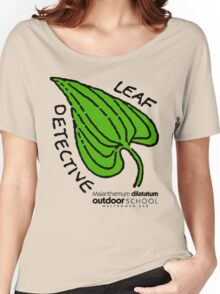 False Lily of the Valley - Leaf Detective Women's Relaxed Fit T-Shirt