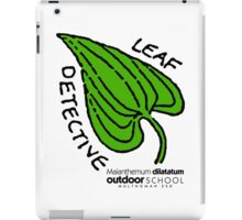 False Lily of the Valley - Leaf Detective iPad Case/Skin