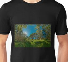 Looking out from Lachlan Swamp Unisex T-Shirt