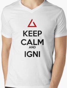 The Witcher Igni Mens V-Neck T-Shirt
