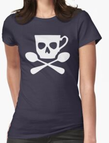 Cup and Cross Spoons Womens Fitted T-Shirt
