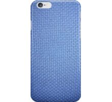 Blue Upholstery    iPhone Case/Skin