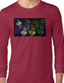Festive Leaves Long Sleeve T-Shirt