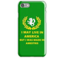 Made In Amestris iPhone Case/Skin