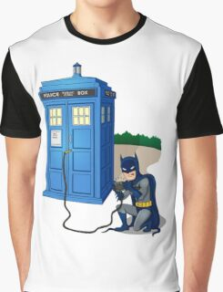 Breaking In Box Telephone Graphic T-Shirt