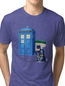 Breaking In Box Telephone Tri-blend T-Shirt