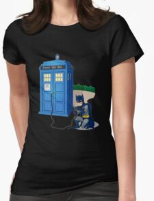Breaking In Box Telephone Womens Fitted T-Shirt
