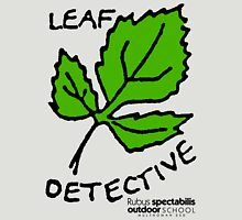 Salmonberry - Leaf Detective Womens Fitted T-Shirt