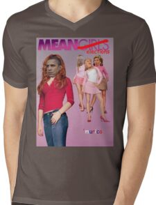 Mean Elections (Mean Girls Parody) Mens V-Neck T-Shirt