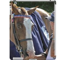 Stop talking - I want to go for a ride. iPad Case/Skin