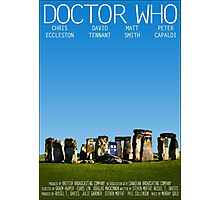 Doctor Who - Movie Poster Photographic Print