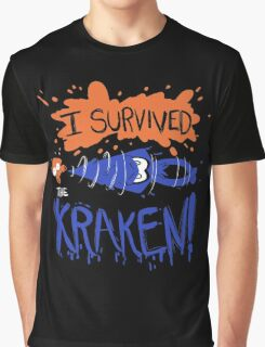 I Survived the Kraken! Graphic T-Shirt