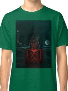 """The Eternal Light ""   -  (Dark Night of the Soul Art Illustration)  Classic T-Shirt"