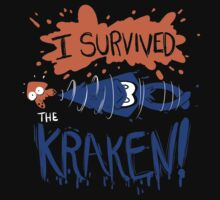 I Survived the Kraken! Kids Tee