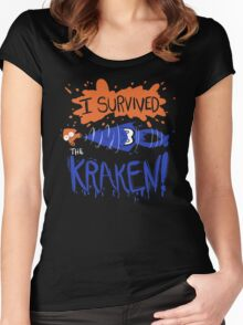 I Survived the Kraken! Women's Fitted Scoop T-Shirt