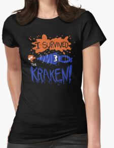I Survived the Kraken! Womens Fitted T-Shirt
