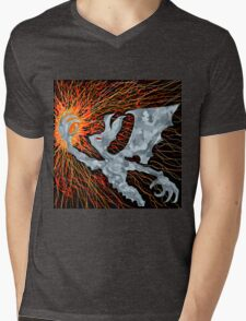 Dark creator spark Mens V-Neck T-Shirt