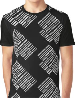 <Code of Conduct> Binary Barcode Graphic T-Shirt
