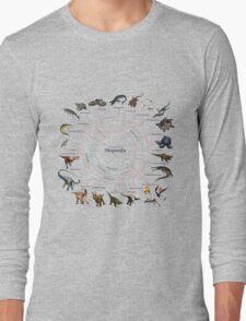 Diapsida: The Cladogram Long Sleeve T-Shirt