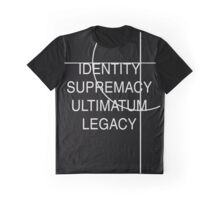 Identity, Supremacy, Ultimatum Graphic T-Shirt