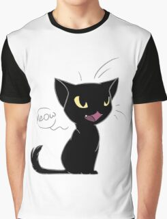 Snowball the Cat Graphic T-Shirt