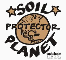 Soil Planet Protector Baby Tee