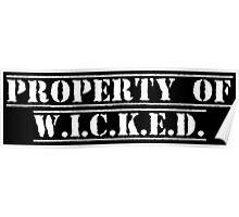 Property of W.I.C.K.E.D. Poster