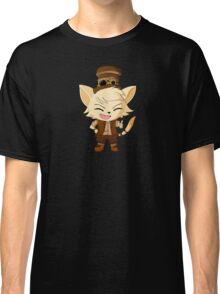Steampunk Gentleman Cat Classic T-Shirt