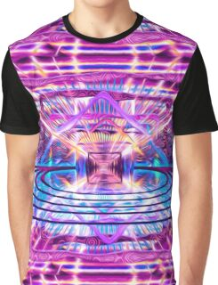 Rave Vision Synesthesia - Psychedelic Geometric Art  Graphic T-Shirt