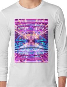 Rave Vision Synesthesia - Psychedelic Geometric Art  Long Sleeve T-Shirt