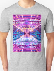 Rave Vision Synesthesia - Psychedelic Geometric Art  Unisex T-Shirt