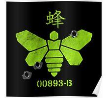 Heisenberg 'Golden Moth' Chemical Logo Shot with Bullet Holes Poster