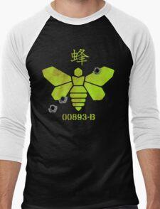 Heisenberg 'Golden Moth' Chemical Logo Shot with Bullet Holes Men's Baseball ¾ T-Shirt