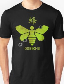 Heisenberg 'Golden Moth' Chemical Logo Shot with Bullet Holes T-Shirt