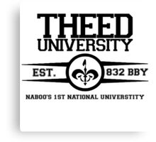 Theed University, Naboo (Star Wars) Canvas Print