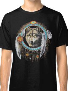 Wolf Dream Catcher Classic T-Shirt