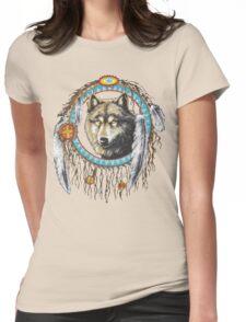 Wolf Dream Catcher T-Shirt