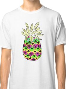 Neon Pineapple Classic T-Shirt