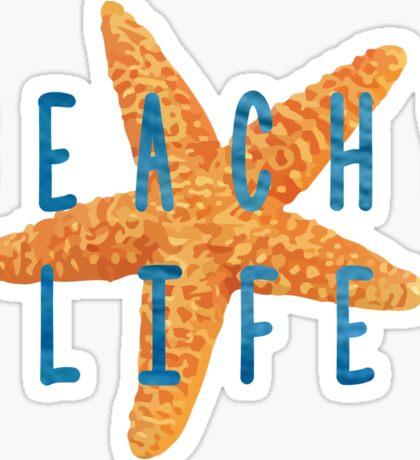 Beachy Life Sticker