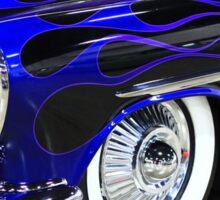 Classic Blue Car Sticker