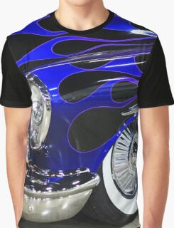 Classic Blue Car Graphic T-Shirt