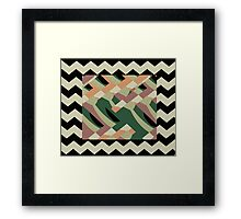 HUES ONE Framed Print
